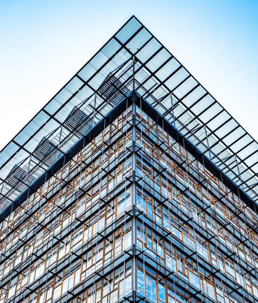 imagem de prédio em contrução